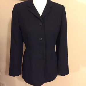 Petites Black Interview Career Suit jacket Blazer